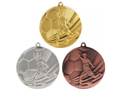 sportovni pohary 4j medaile fotbal MMC5055 sada