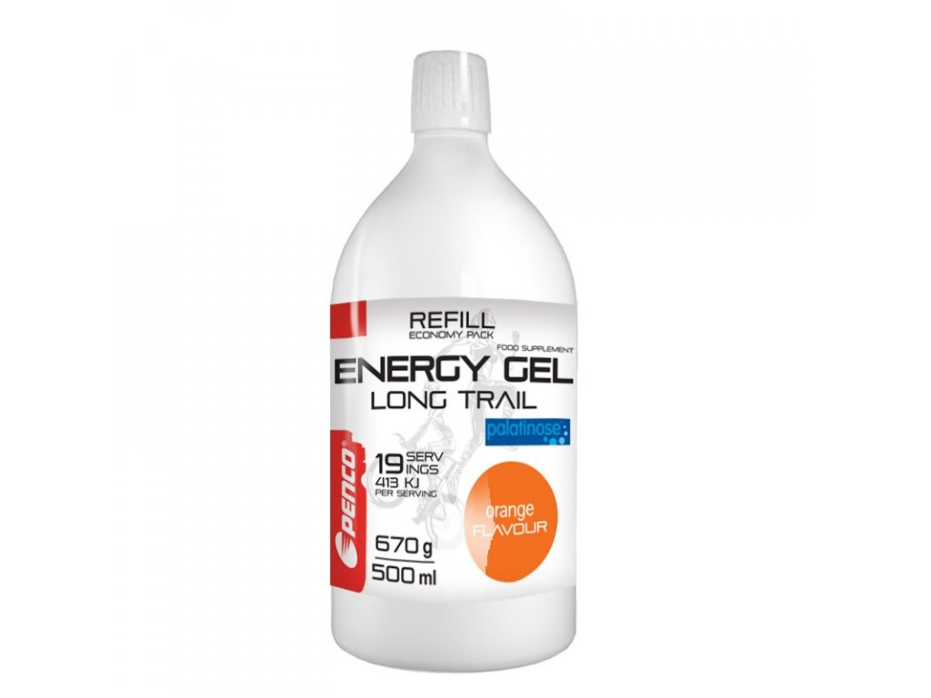 PENCO Energetický gel LONG TRAIL REFILL Pomeranč