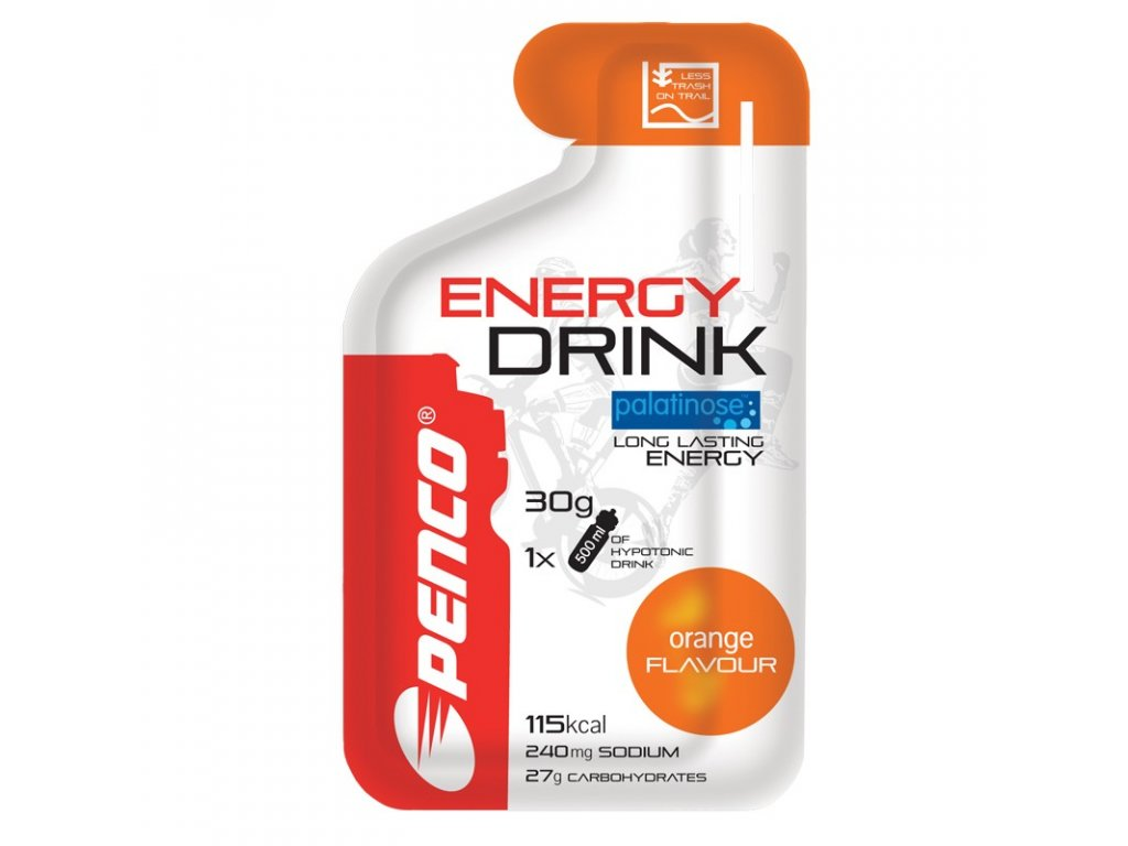 PENCO ENERGY DRINK 30g Pomeranč