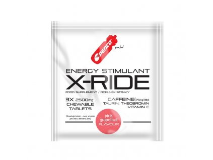 PENCO Energy stimulant X-RIDE 3tbl Pink grapefruit