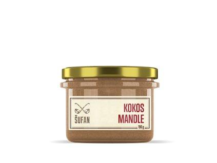 Kokos - Mandle 190g (Kokosovo-mandlový krém)