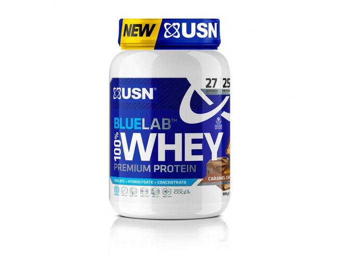 USN BlueLab 100% Whey Premium Protein  Prošlá doba minimální trvanlivosti: Expirace 08/2021