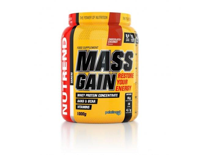 mass gain 1000g vs 052