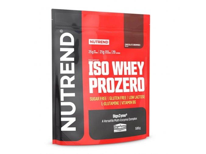 Nutrend Iso Whey Prozero 500g  EXPIRACE 10/2021