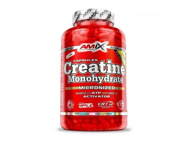 Amix Creatine Monohydrate Kapsle - 500 kapslí