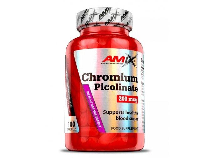 Amix Chromium Picolinate - 100 kapslí