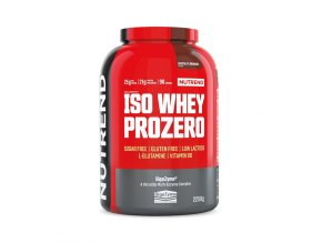 Nutrend Iso Whey Prozero 2250g