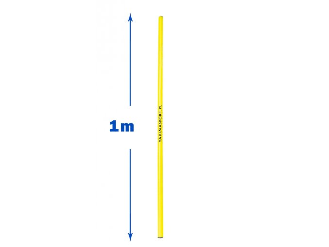 Slalomová tyč průměr 25 mm, délka 100 cm