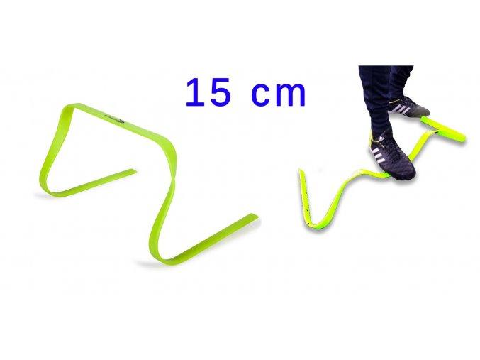 Lehká flexibilní překážka výška 15cm