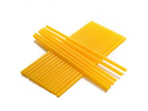 Brčko žluté jumbo | balení 100 ks