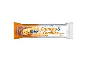 Active tyčinka crunchy l-carnitin broskev 35 g