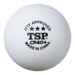 Stručná recenze na míče TSP CP 40+ od p. Milaty z České Lípy!