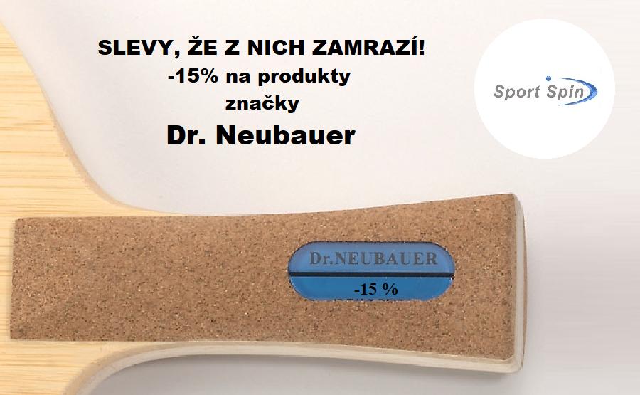 Slevy, které zamrazí - Dr. Neubauer s 15% slevou!