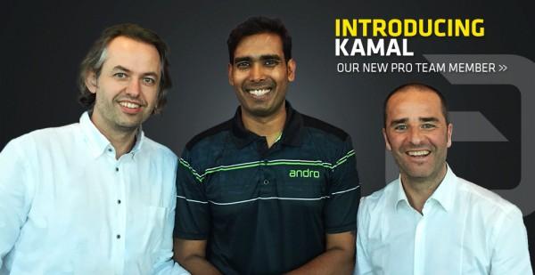 KAMAL SHARATH ACHANTA novým členem týmu andro!