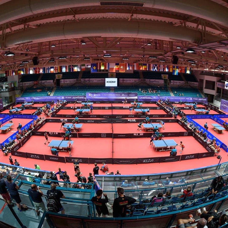 XIOM na Mistrovství Evropy Juniorů a Kadetů v Ostravě!