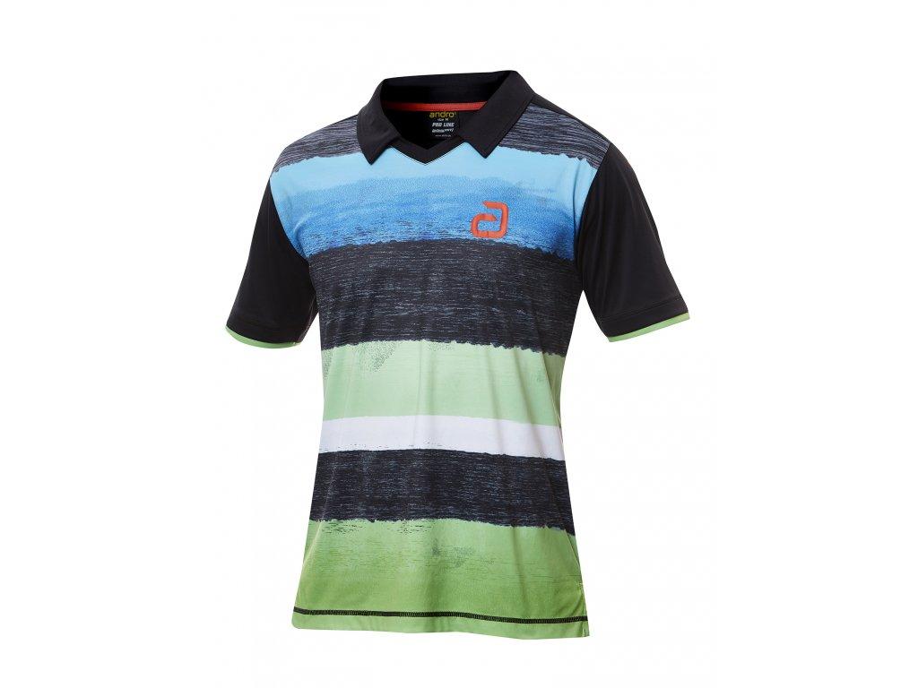 302151 devlin shirt blk green