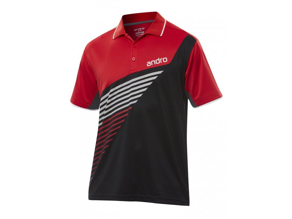 302155 harris shirt blk red