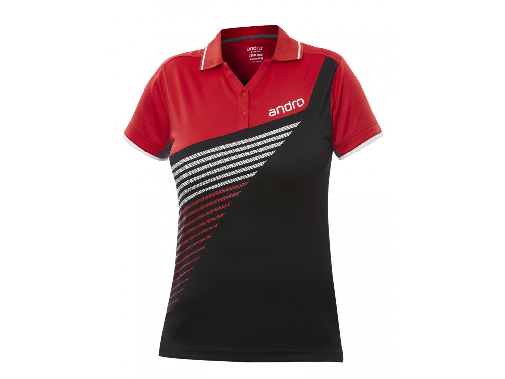 302156 harris w shirt black red