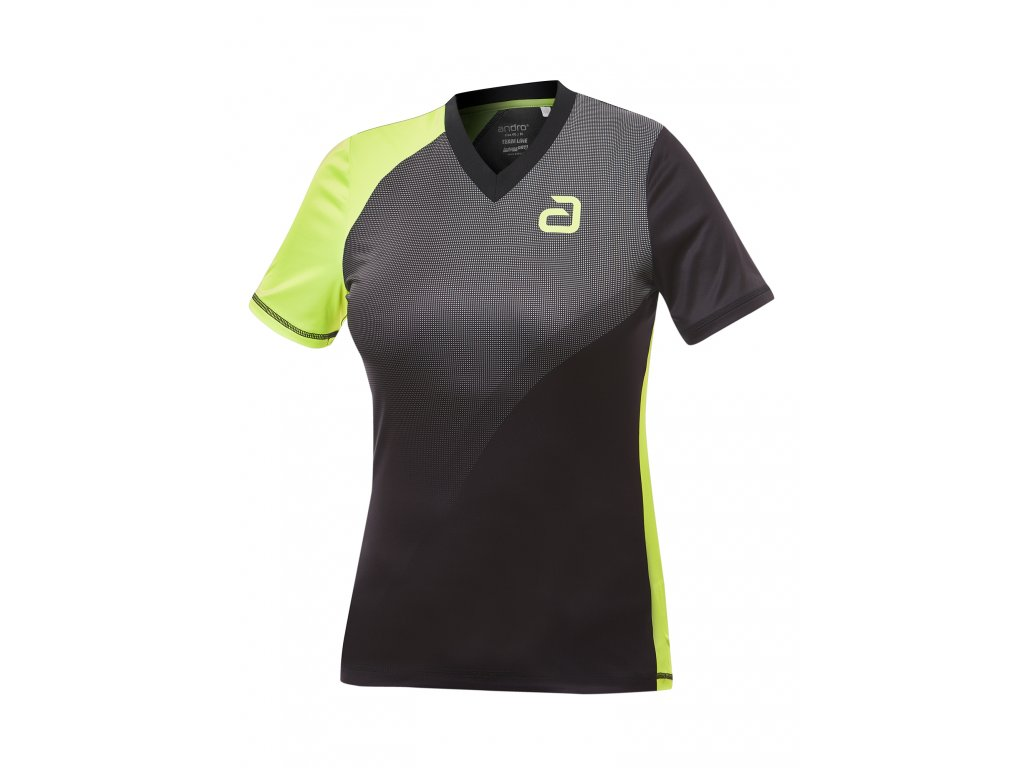 302165 campell w shirt black yellow