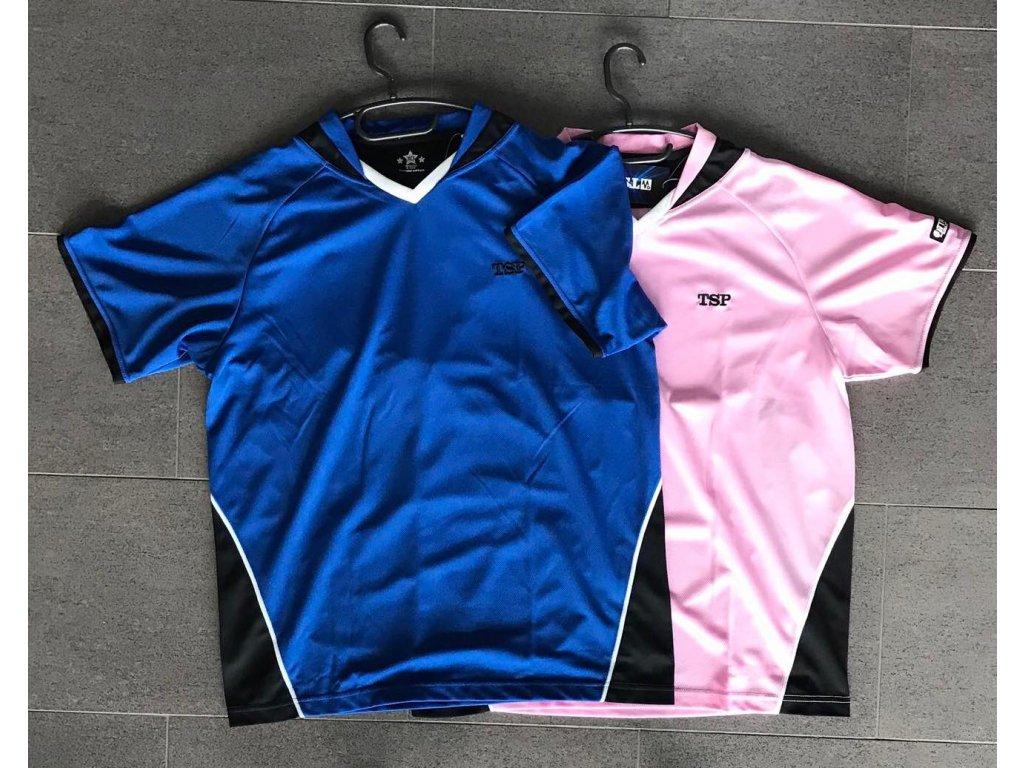 TSP T shirt blue a pink