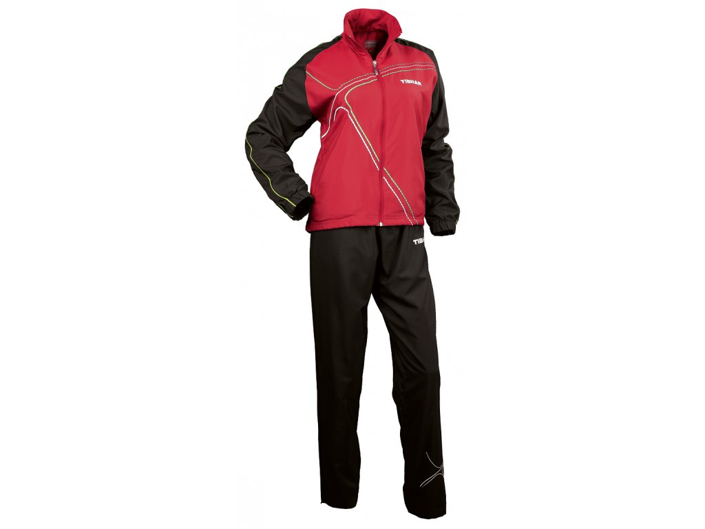 METRO Lady tracksuit red