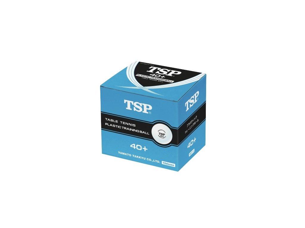 Míčky TSP Training 40+ 120 ks