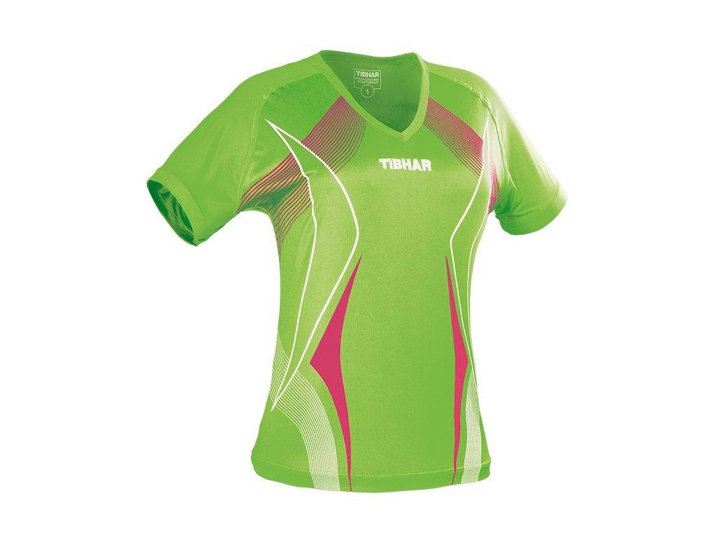shirt race lady limegreen pink