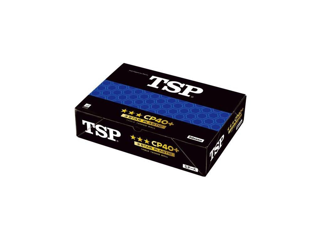 Míčky TSP CP 40+ *** 60 ks