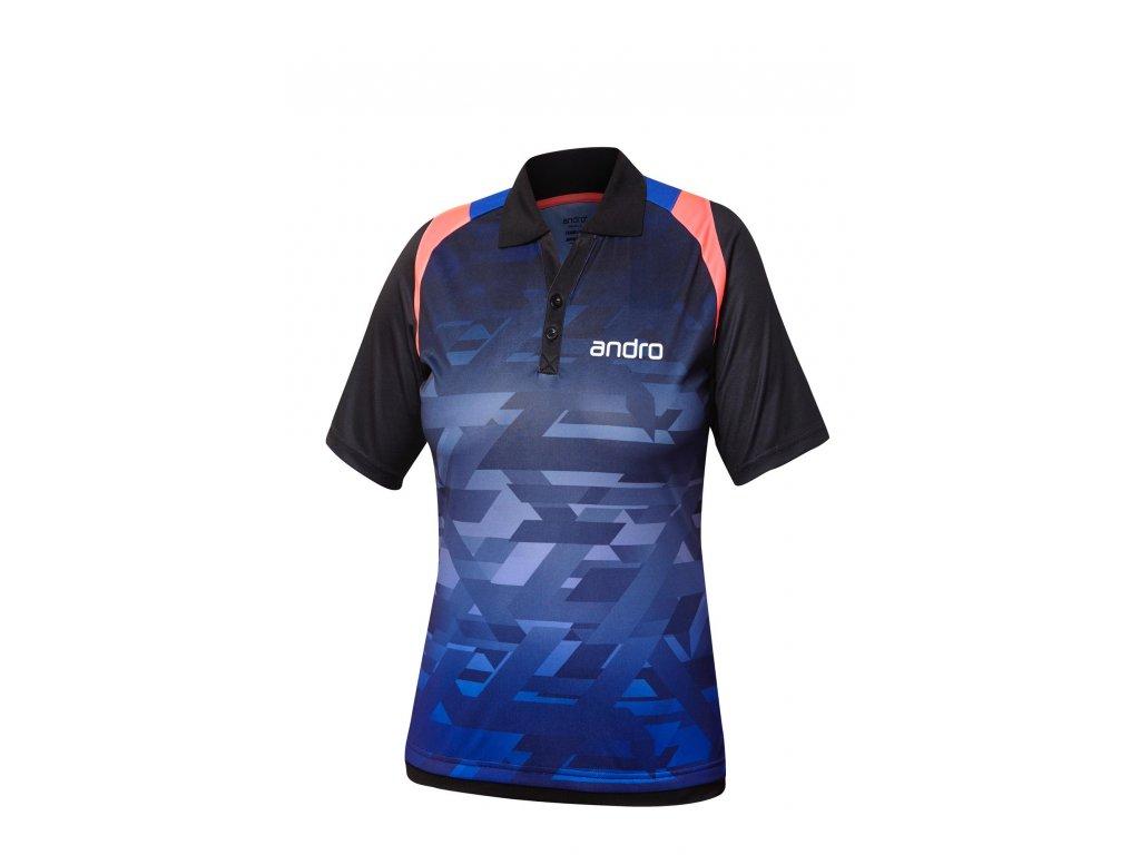 302141 Poloshirt Murphy W blk blue