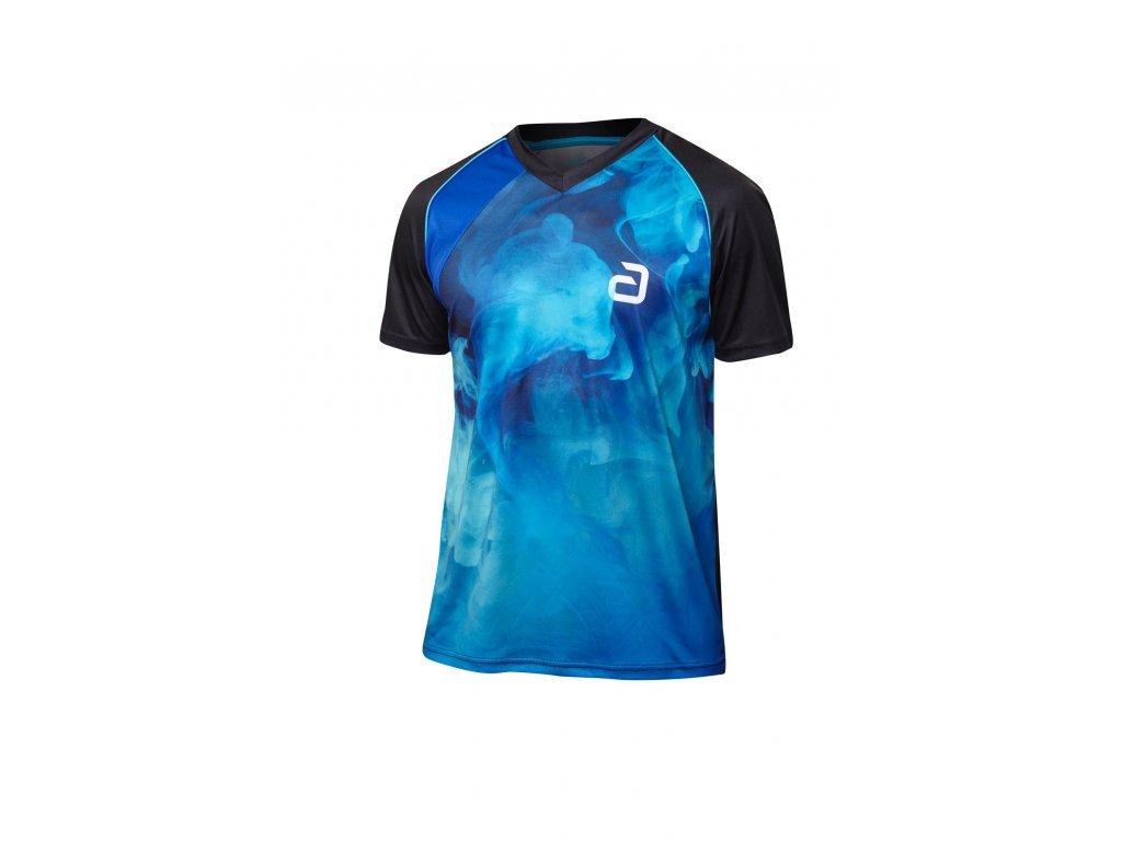 302144 T shirt Kane blk blue
