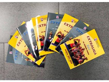 Brožura České Asociace Stolního Tenisu-Extraliga
