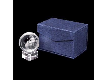 Suvenýr TIBHAR skleněný míč JPS