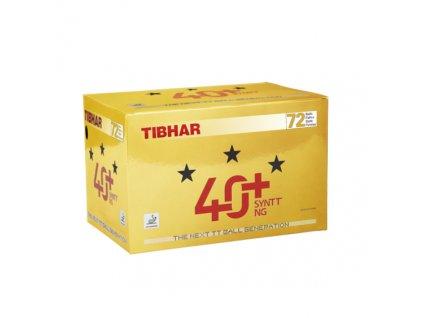 Míčky TIBHAR SYNTT *** NG 40+ 72 ks
