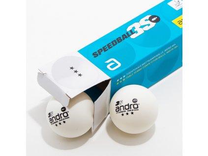 Míčky ANDRO Speedball 3S *** 40+ 3 ks