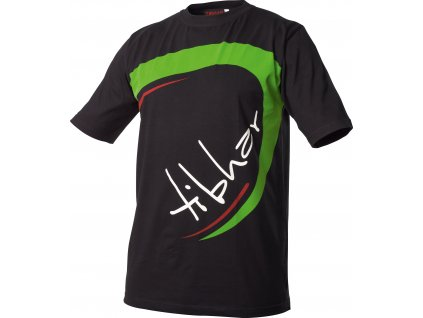 tshirt joy black green