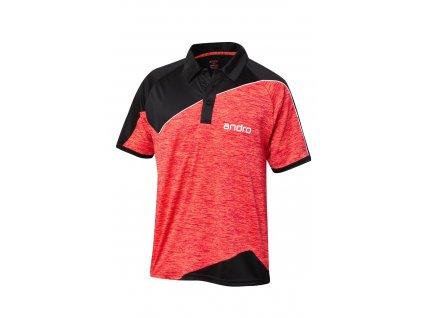 302134 Poloshirt Perkins blk red