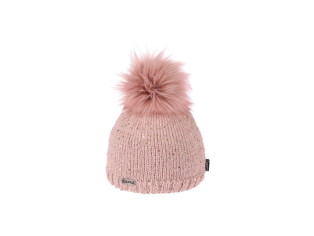 ... Capu 388 dámská pletená zimní čepice 152a161fd6