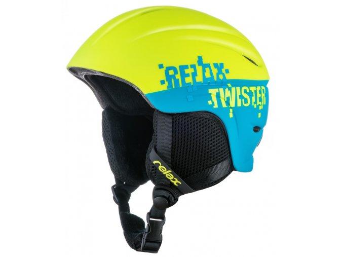 Relax TWISTER RH18V dětská/juniorská lyžařská helma
