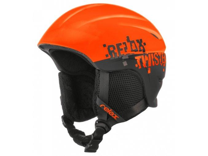 Relax TWISTER RH18Z dětská/juniorská lyžařská helma