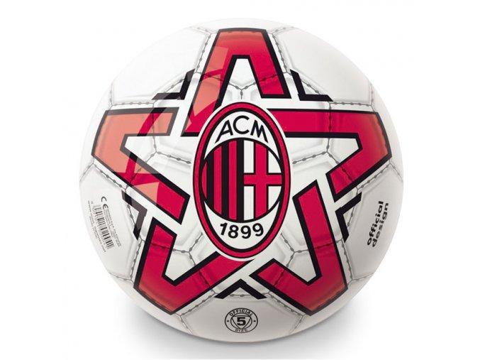 Gumový potištěný míč licenční A.C.MILAN 230 mm