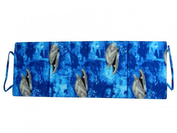 Skládací plážové molitanové lehátko Trieste-3 165x60x3 cm