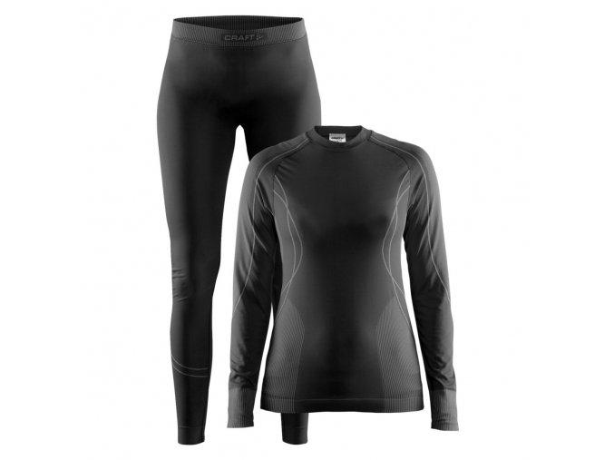 CRAFT Seamless Zone Set W 1905329 dámské termoprádlo (funkční triko a kalhoty)