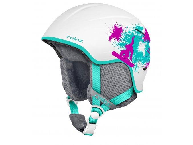 Relax TWISTER RH18A6 dětská/juniorská lyžařská helma