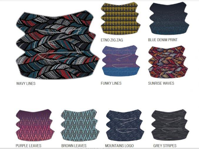 Hi-tec Temi Multifunkční šátek