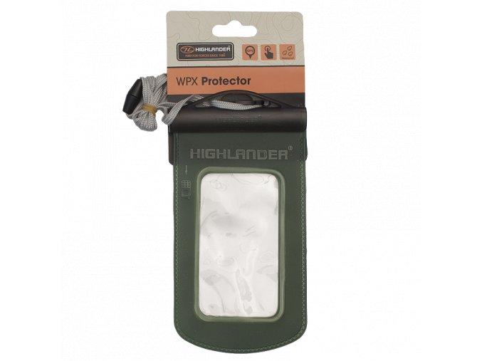 HIGHLANDER WPX Protector Pouzdro na krk, nepromokavé zelené