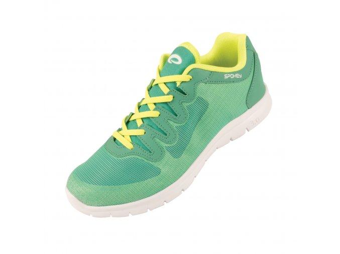 Spokey LIBERATE 1 Dámská tréninková obuv zelená vel.36-40