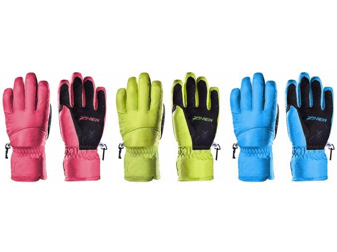 Zanier Scheffau.ZX dámské zimní rukavice