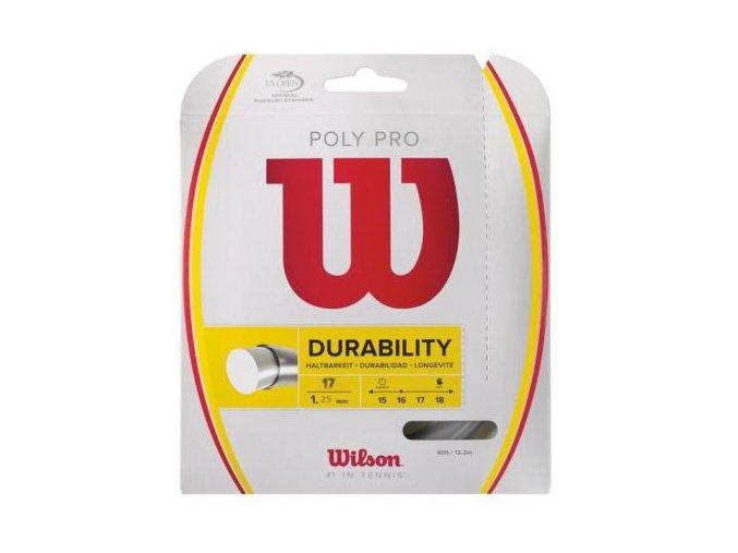 Wilson Poly Pro 17 tenisový výplet