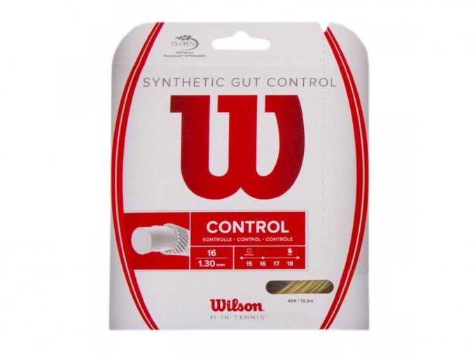 Wilson Synthetic Gut Control 16 tenisový výplet