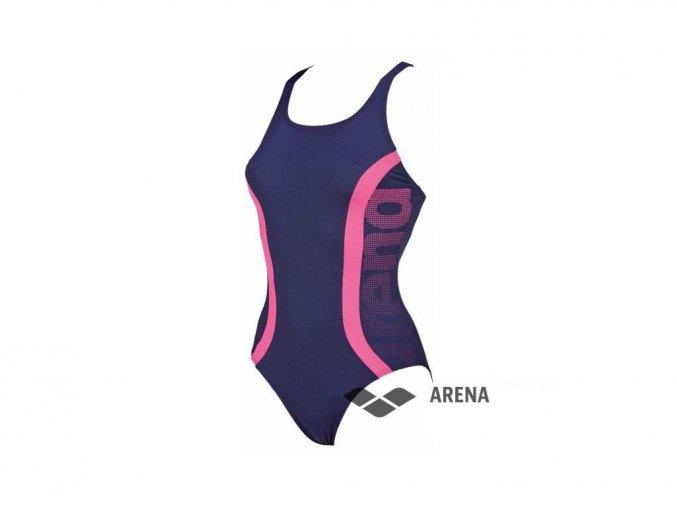 ArenaW Clog one piece modrá dámské plavky